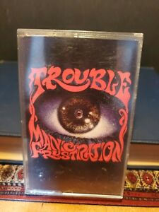 """TROUBLE """"Manic Frustration"""" VINTAGE 1992/ Black Sabbath / Cathedral / Candlemass"""