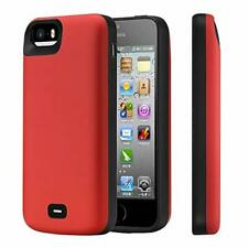 KERTER Battery Case for iPhone 5/5S/SE, [4000mAh] Rechargeable Extended Charger