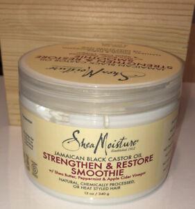 Shea Moisture Jamaican Black CastorOil Strengthen & Restore Smoothie Leave-12 oz