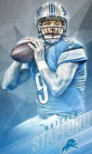 NFL Football 2 x 3 FT Photo Print Poster MATT STAFFORD Poster 1