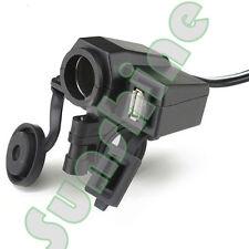 12V USB Cigarette Lighter Waterproof Power Port Outlet Socket For Harley