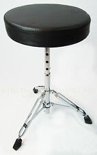 Drum Throne, Adjustable Double Braced - Seed Series, Light Duty NEW