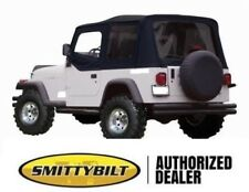 new 1988-1995 SOFT TOP FOR HALF DOORS BLACK 9870215 for Jeep Wrangler YJ