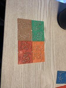 Kelloggs Stencils: Cornelius, Pop, Sam & Crackle, 4 Pack. Good Condition