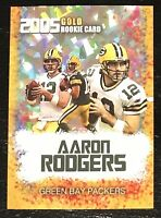 2005 Aaron Rodgers Gold Rookie Gems Rookie Card Arizona Cardinals Mint Condition