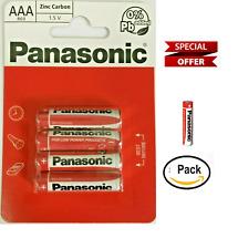 Panasonic AAA zinc  Battery x4