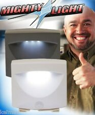 Mighty Light LED Motion Activated Sensor  As Seen on TV with free batteries