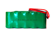 6 Volt NiMH Battery Pack (5000 mAh) with Leads