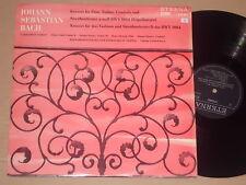 BOSSE / GLAß - BACH / STREICHORCHESTER - Violinkonzert  2xLP Eterna