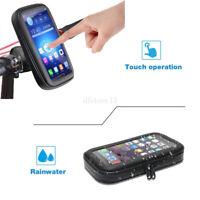 360° Etanche Moto Vélo Housse Etui Coque Support Téléphone Pour iPhone 8 Samsung