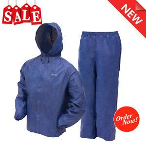 Rain Suit Ultra Lite Waterproof Jacket Pants Gear Wear Frogg Toggs S M L XL XXL
