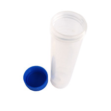 5 50ml Plastic Centrifuge Tube Pipe Vial Lab Test Container Ink Sample Container