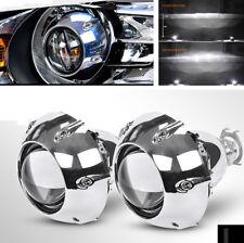 2Pcs 3 Zoll Projector Lens + Wanten + Zubehör für Linkslenker Autoscheinwerfer