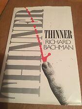 THINNER - Richard Bachman (Stephen King) UK very rare edition 1st