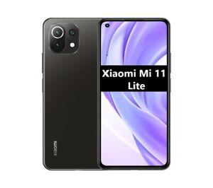 """Cellulaire Smartphone Xiaomi Mi 11 Lite 6,55 """" 4G LTE 6GB/ 128GB Boba Black"""