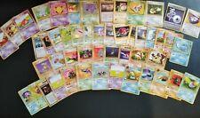 Carte pokémon lot de 121 cartes toutes séries Japanese wizards good / vg