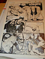 Frank Teran Punisher #95 Page #8 Original Published Comic Book Interior Art Page