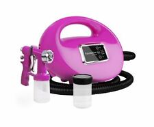 NEW HVLP SPRAY TAN MACHINE 700W PINK TANNING HOME DEVICES SALONS PROFESSIONAL