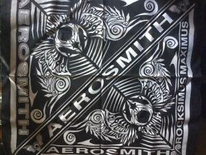 Vintage Aerosmith - Rocksimus Maximus 2003 Tour - Head Scarf / Bandana - MINT