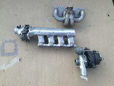 Turbokit K03 Turbolader Ansaugbrücke VW 16V Turbo Drosselklappe poliert