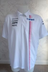 BWT RACING POINT F1 TEAM ISSUE ZIPPED POLO SHIRT MENS XL - LAST ONE IN STOCK