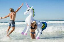 "Giant Inflatable Unicorn 6ft 6"" Tall Stands Unaided by The Monster Factory"