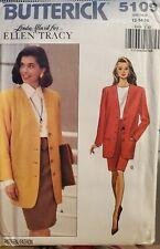 Butterick Linda Allard for Ellen Tracy pattern 5109 Misses' Suit  sz 12-16 uncut