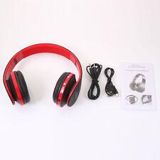 New Foldable Wireless Stereo Bluetooth Headphone Headset Earphone Mic Universal