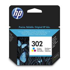 HP 302 (F6U65AE) cartuccia inchiostro ORIGINALE ~190 pagine per DeskJet 3637 All