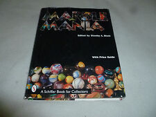 MARBLE MANIA PRICE GUIDE HARDCOVER COLLECTORS BOOK SCHIFFER STANELY A BLOCK 1998