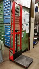 Wesco Industrial 260052 manual mobile hydraulic platform stacker