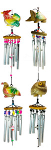 Novelty Animal Wind Chimes Garden Ornament Bedroom Decor In Or Out Fair Trade