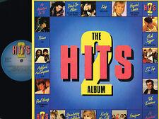 "HITS 2 ALBUM 2x12"" LP GATEFOLD Mick Jagger ZZ TOP Prince WEA/CBS UK 1985 @ex-n/m"