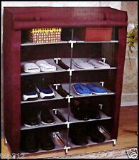 Schuhschrank Stoff Regal Schuhe Kommode Schuhregal 20 Paar Schuh Schrank