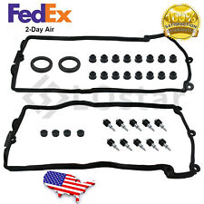 Valve Cover Gasket Set Left + Right For Bmw 545i 550i 645Ci 650i 745Li 745i 4.8L