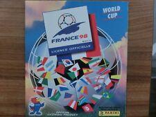 PANINI FRANCE 1998 * VERSION UK * COMPLETE SET EMPTY ALBUM anglais IRAN *
