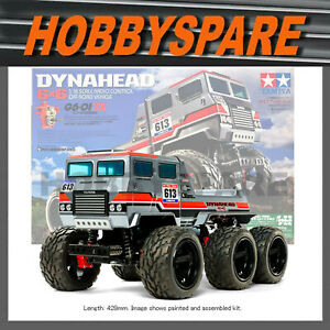 NEW TAMIYA DYNAHEAD 6X6 MONSTER TRACTOR TRUCK CRAWLER RC KIT 6WD OFFROAD 58660