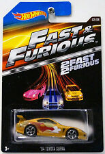 Fast & Furious Toyota Diecast Vehicles