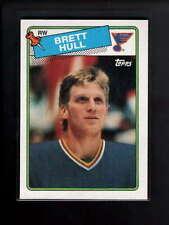 1988-89 TOPPS #66 BRETT HULL ROOKIE RC NM D7160