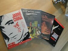 JEAN MICHEL JARRE 4 x DVD Collection CHINA OXYGENE MOSCOW SOLIDARNOSC MILLENIUM