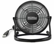 Mumbi USB Ventilator Mini für den Schreibtisch - Schwarz