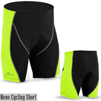 Mens Cycling Shorts CoolMax Padded MTB Cycle Anti-Bac Quality Short S, M, L, XL