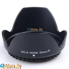 52mm Lens Hood For Nikon D3300 D5200 D5100 D3200 D3100 D90 D60 18-55mm f/3.5-5.6