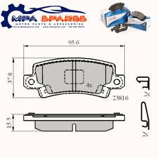 Rear Brake Pads Toyota Corolla 00->07 - ADB3942 PAD1243 MDB2596