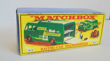 Repro Box Matchbox King Size K-5 Racing-Car Transporter