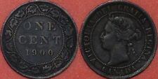 Fine 1900 Canada Large 1 Cent