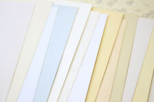 Recycled Superior Card Stock blank A4 A5 A6 Cream White DIY wedding craft cards