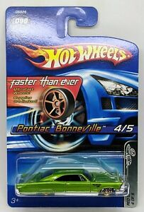 '65 Pontiac Bonneville > Green w/ FTE > Hot Wheels > 2005 > New