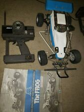 Used Tamiya vintage grasshopper rc car buggy frog original make a offer