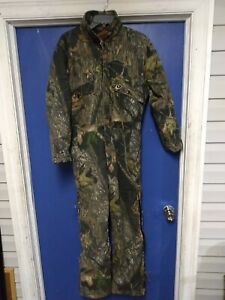 MOSSY OAK JR Flintlock Coveralls Camo Insulated Hunting Junior Youth Boys XL 18